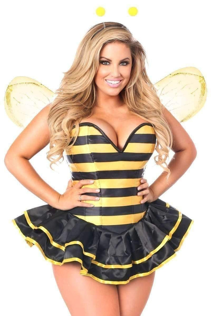 Daisy Top Drawer Premium Queen Bee Plus Size Corset Costume-Costumes-Daisy Corsets-Unspoken Fashion
