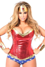 Load image into Gallery viewer, Daisy Top Drawer Premium Superhero Corset Costume-Costumes-Daisy Corsets-Unspoken Fashion