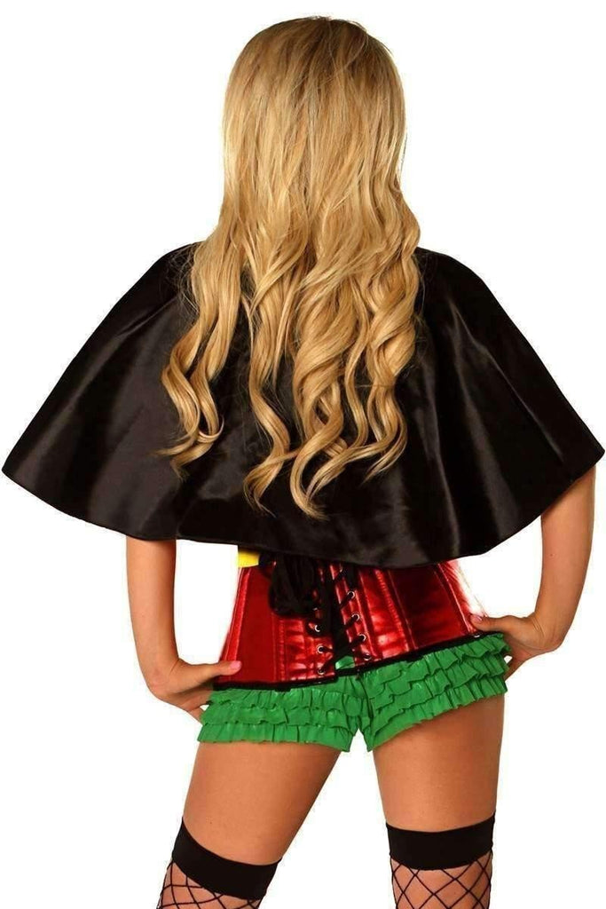 Daisy Top Drawer Superhero Sidekick Corset Costume-Costumes-Daisy Corsets-Unspoken Fashion