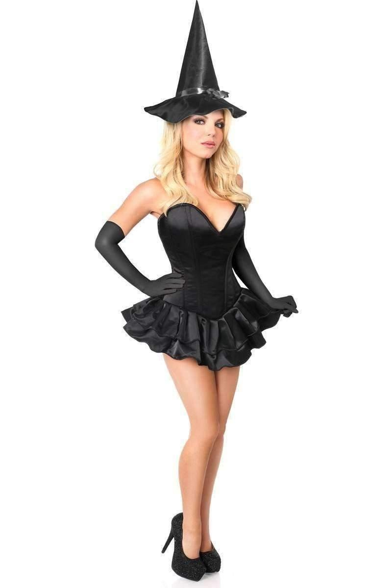 Daisy Top Drawer Witch Corset Costume-Costumes-Daisy Corsets-Unspoken Fashion