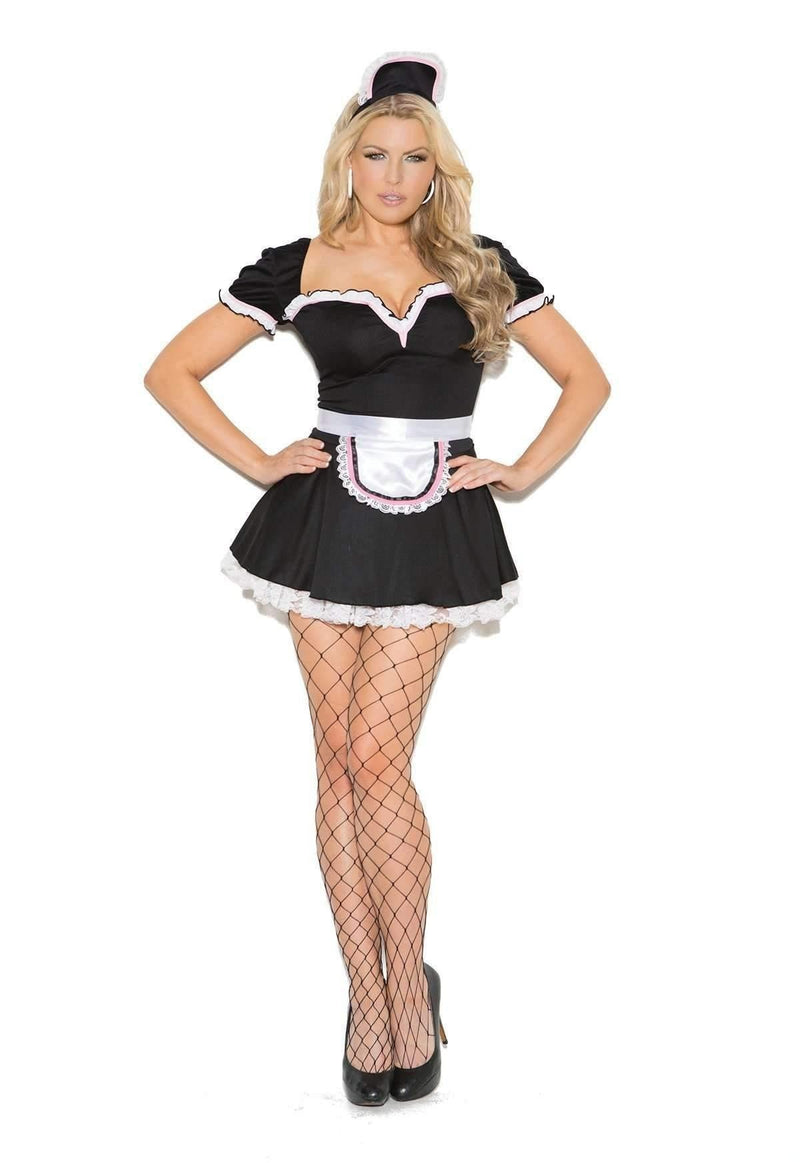 EM9132X Maid To Please Costume - Elegant Moments-Costumes-Elegant Moments-Unspoken Fashion