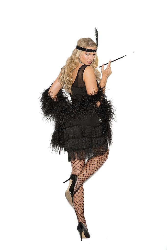 EM99051 Flapper Costume - Elegant Moments-Costumes-Elegant Moments-Unspoken Fashion