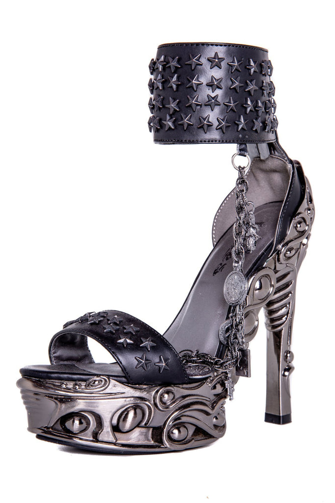 Hades Alternative Shoes Avius Black High Heels-High Heels-Hades Alternative Shoes-6-Black-Unspoken Fashion