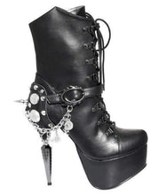Load image into Gallery viewer, Hades Alternative Shoes Envy Black Boots-Boots-Hades Alternative Shoes-6-Black-Unspoken Fashion