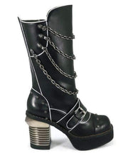 Load image into Gallery viewer, Hades Alternative Shoes Krull Black Boots-Boots-Hades Alternative Shoes-Unspoken Fashion
