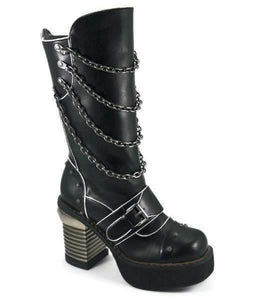 Hades Alternative Shoes Krull Black Boots-Boots-Hades Alternative Shoes-Unspoken Fashion