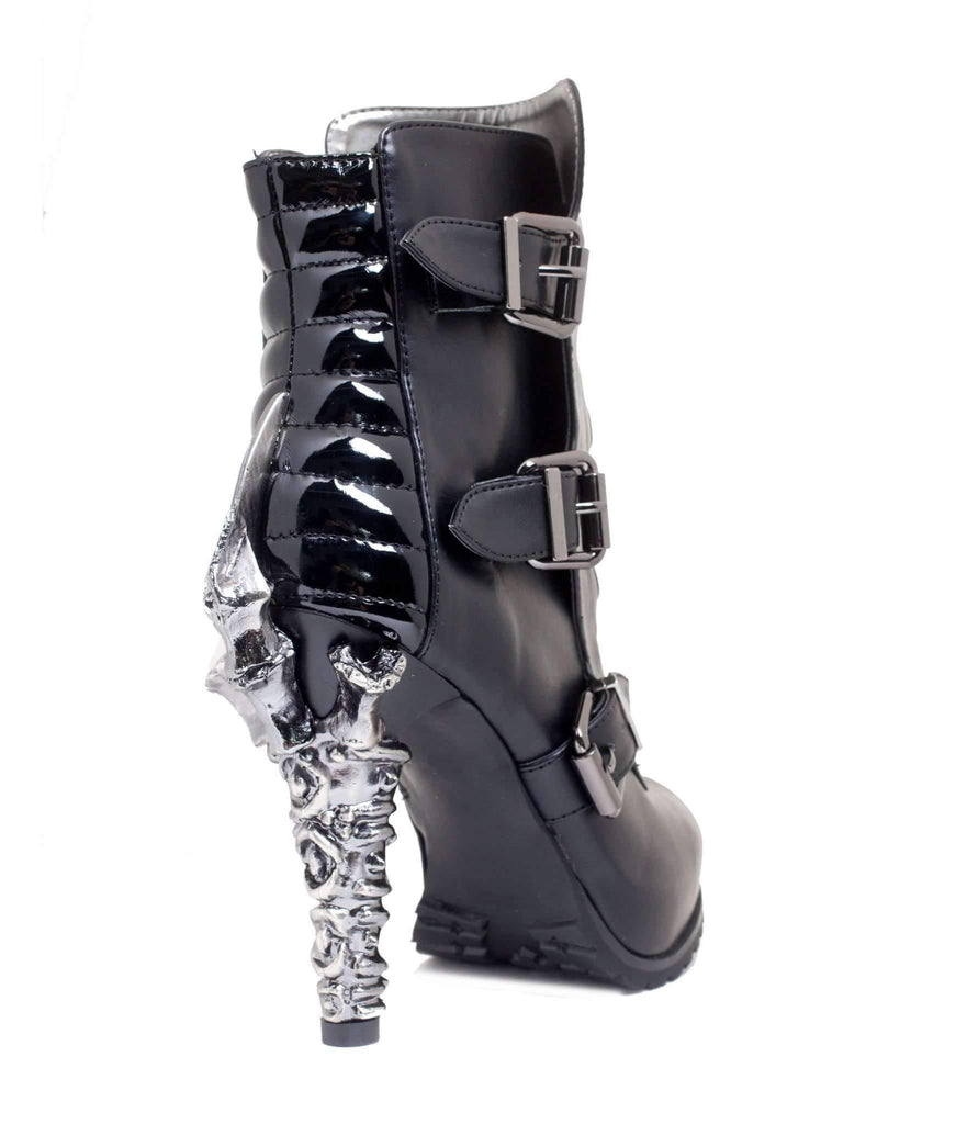 Hades Alternative Shoes Neo Black Boots-Boots-Hades Alternative Shoes-Unspoken Fashion