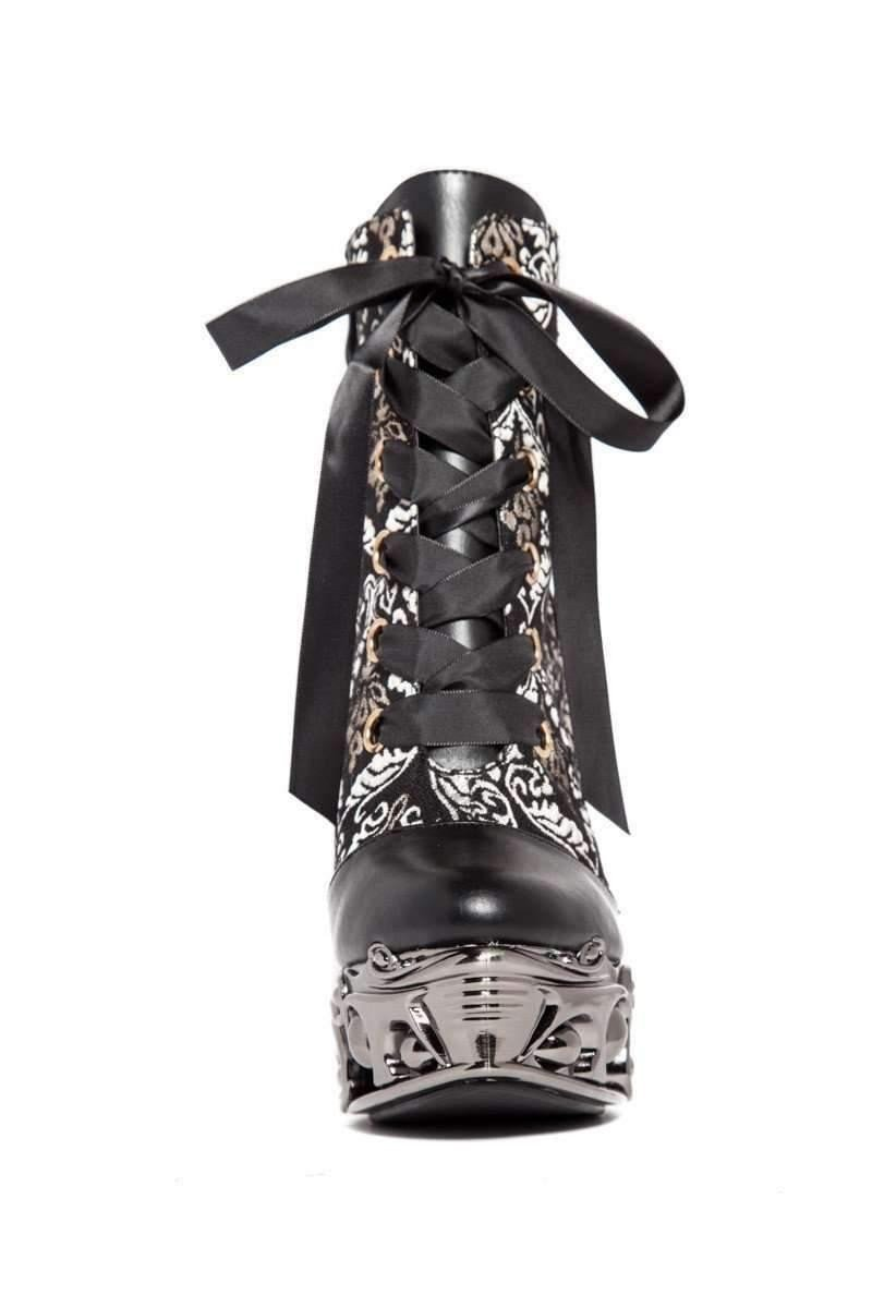 Hades Alternative Shoes Rena Black Boots-Boots-Hades Alternative Shoes-Unspoken Fashion