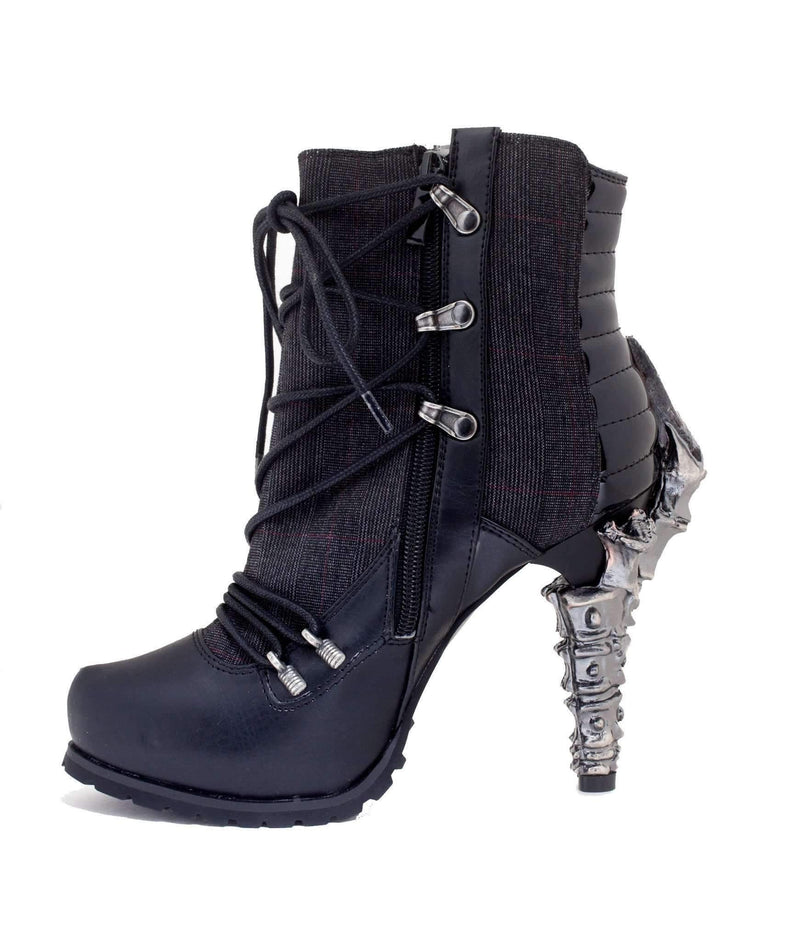 Hades Alternative Shoes Shade Black Boots-Boots-Hades Alternative Shoes-Unspoken Fashion