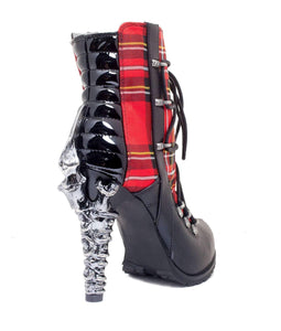 Hades Alternative Shoes Shade Red Boots-Boots-Hades Alternative Shoes-Unspoken Fashion
