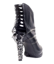 Load image into Gallery viewer, Hades Alternative Shoes Sidhe Black Boots-Boots-Hades Alternative Shoes-Unspoken Fashion