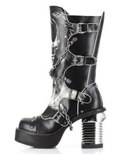Load image into Gallery viewer, Hades Alternative Shoes Spawn Black Boots-Boots-Hades Alternative Shoes-6-Black-Unspoken Fashion