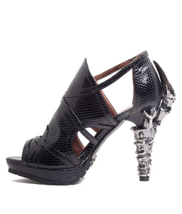 Hades Alternative Shoes Stella Black Sandals High Heels-High Heels-Hades Alternative Shoes-Unspoken Fashion