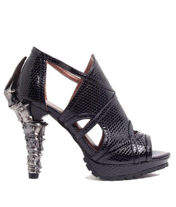 Hades Alternative Shoes Stella Black Sandals High Heels-High Heels-Hades Alternative Shoes-6-Black-Unspoken Fashion