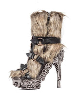 Load image into Gallery viewer, Hades Alternative Shoes Yetah Black Boots-Boots-Hades Alternative Shoes-Unspoken Fashion