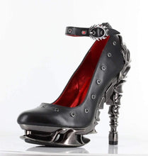 Load image into Gallery viewer, Hades Alternative Shoes Zephyr Black High Heels-High Heels-Hades Alternative Shoes-Unspoken Fashion