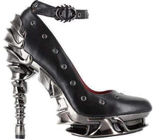 Load image into Gallery viewer, Hades Alternative Shoes Zephyr Black High Heels-High Heels-Hades Alternative Shoes-6-Black-Unspoken Fashion