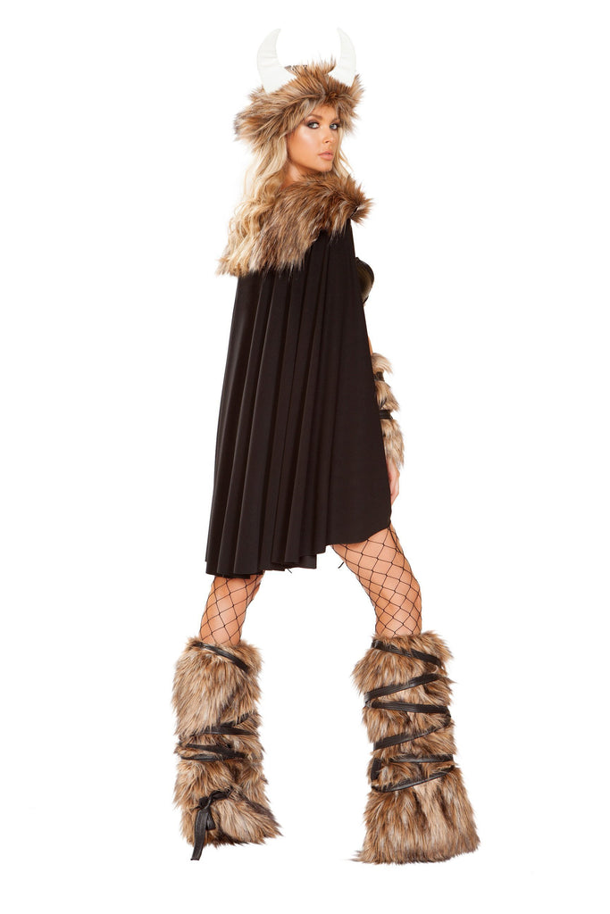 Roma 4892 - 4pc Viking Warrior Costume-Costumes-Roma-Unspoken Fashion