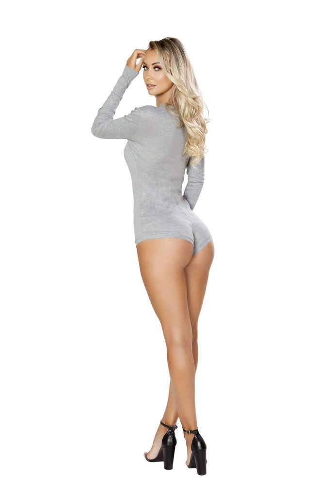Roma Confidential Cozy & Comfy Sweater Romper LI211-Sleepwear-Roma-Unspoken Fashion