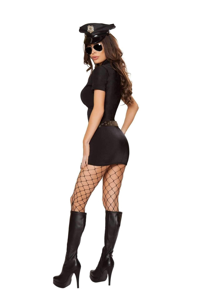Roma Costume 10065 - 6pc Police Hottie-Costumes-Roma-Unspoken Fashion