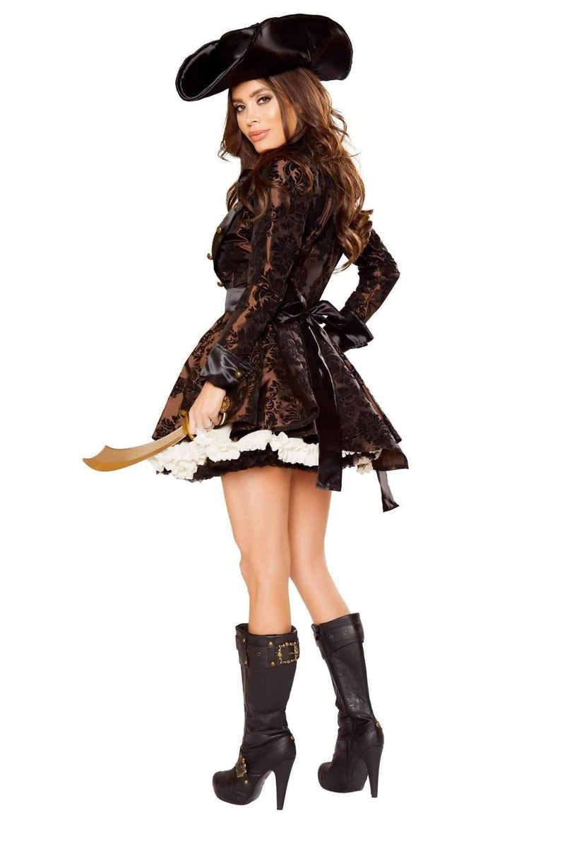 Roma Costume 10071 - 5pc Pirate Beauty-Costumes-Roma-Unspoken Fashion