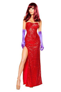 Roma Costume 10088 - 2pc Rabbits Lover-Costumes-Roma-Large-Red-Unspoken Fashion