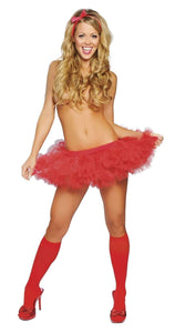 Roma Costume 4151 - Petticoat-Petticoats-Roma-Red-One Size-Unspoken Fashion