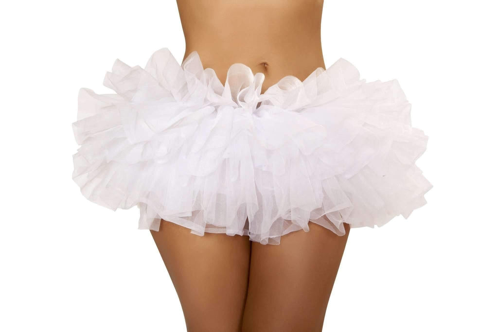 Roma Costume 4457 Mini Petticoat-Petticoats-Roma-White-One Size-Unspoken Fashion
