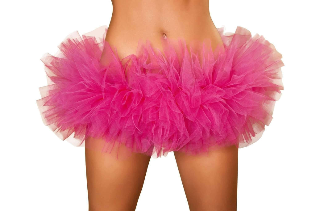 Roma Costume 4457 Mini Petticoat-Petticoats-Roma-Hot Pink-One Size-Unspoken Fashion