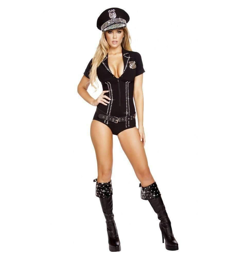 Roma Costume 4586 3Pc Lusty Law Enforcer-Costumes-Roma-Unspoken Fashion