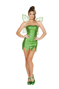 Roma Costume 4732 - 2Pc Mischievous Fairy-Costumes-Roma-Large-Green-Unspoken Fashion