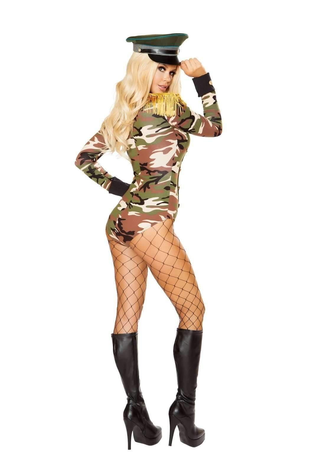 Roma Costume 4817 - 1Pc Army Girl-Costumes-Roma-Unspoken Fashion