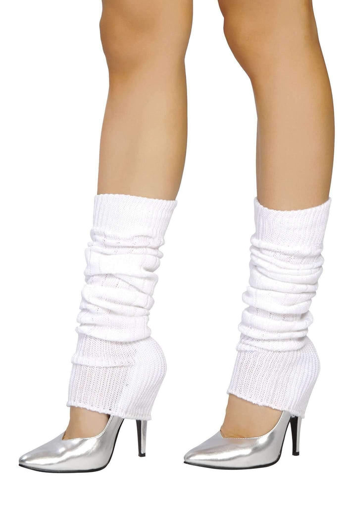 Roma Costume Lw101 Leg Warmer-Costume Accessories-Roma-One Size-White-Unspoken Fashion