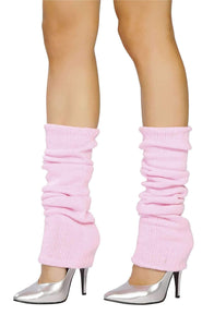 Roma Costume Lw101 Leg Warmer-Costume Accessories-Roma-One Size-Baby Pink-Unspoken Fashion