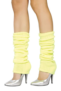 Roma Costume Lw101 Leg Warmer-Costume Accessories-Roma-One Size-Yellow-Unspoken Fashion
