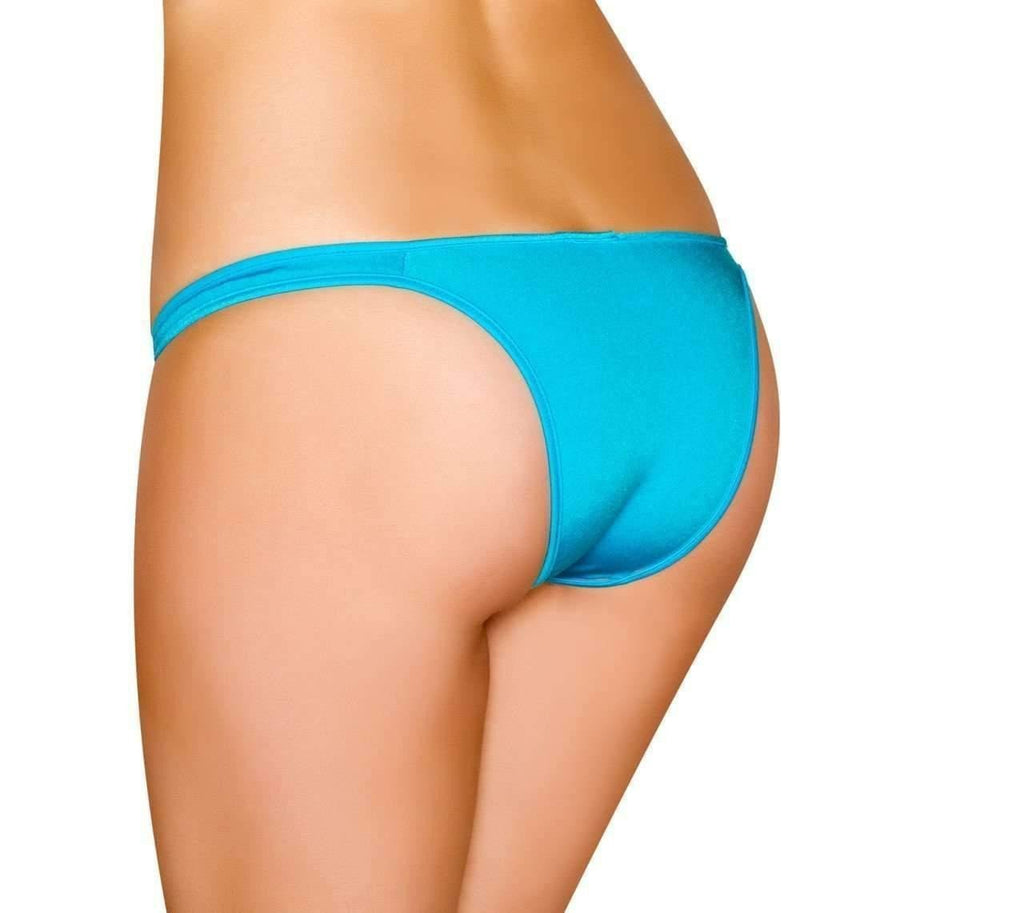 Roma Rave Half Back Bikini Bottom-Rave Bottoms-Roma-Unspoken Fashion