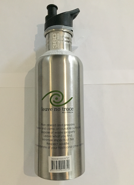 360° Leave No Trace 1L Metal Bottle