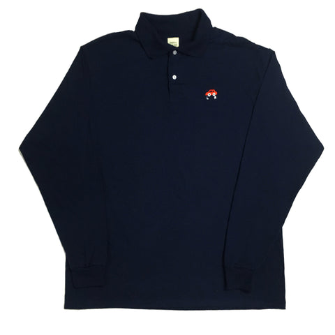 """LR Hooptie Racer"" Long Sleeve Polo"