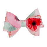 Bright Floral Double Bow