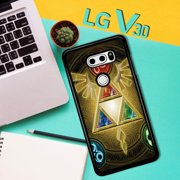 Zelda Triforce Element Z0152 LG V30 Case