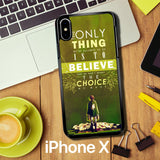Attack On Titan Quotes Z1091 iPhone X Case