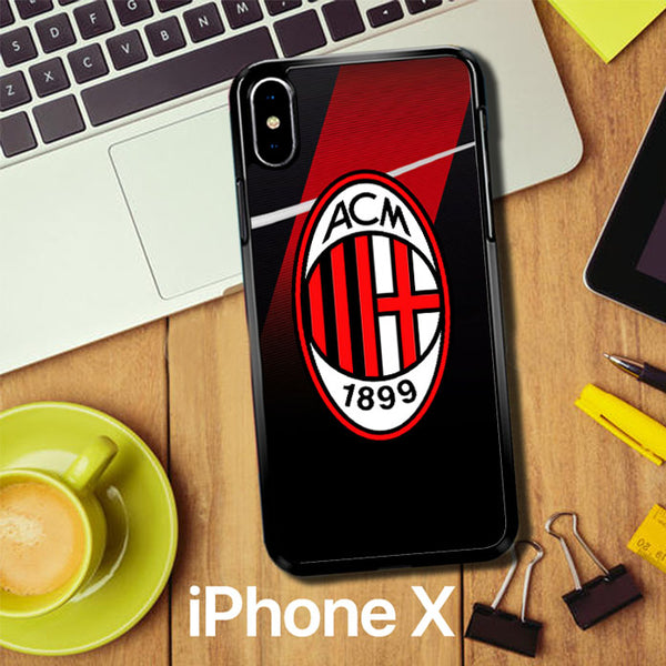 Ac Milan Logo Z3081 iPhone X Case
