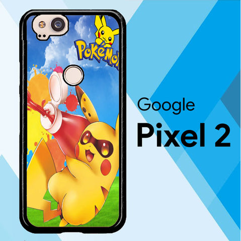 Zelda With Pikachu Pokemon D0018 Google Pixel 2 Case
