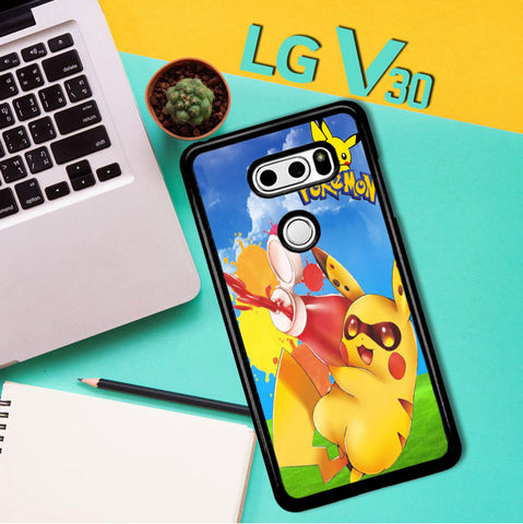 Zelda With Pikachu Pokemon D0018 LG V30 Case