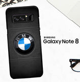 Bmw Leather Logo X5974 Samsung Galaxy Note 8 Case