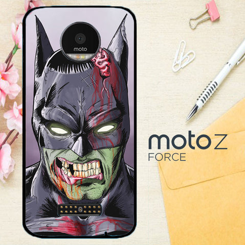 Zombie Batman X0168 Motorola Moto Z Force Case