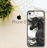 Horse Majestic Mustang Horse L1250 iPhone 8 Case