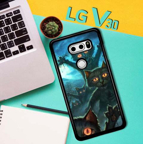Zombie Cats Y1645 LG V30 Case