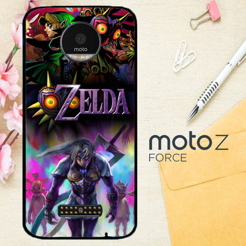 Zelda Majora Mask C0179 Motorola Moto Z Force Case