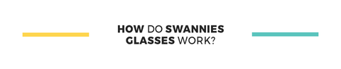 How Swannies Blue Light Blocking Glasses Work